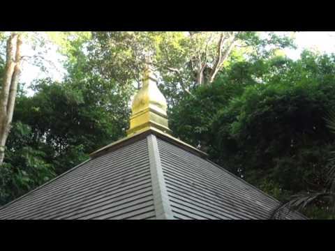 วัดป่านานาชาติ (Wat Pah Nanachat) บ้านบุ่งหวาย ตำบลบุ่งหวาย อำเภอวารินชำราบ จังหวัดอุบลราชธานี ปี 59