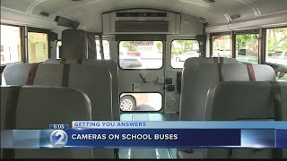 New security cameras on school buses prove useful for resolving conflicts