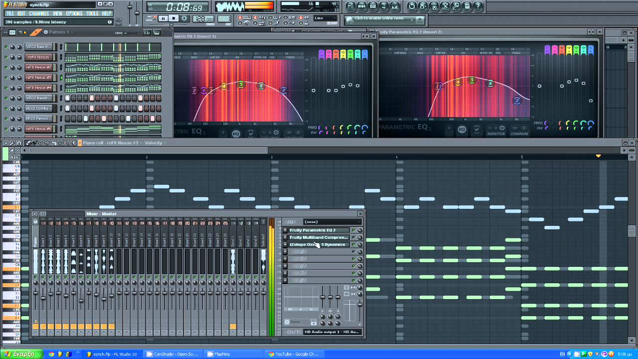 Fl studio nice house music loop flp youtube for Nice house music