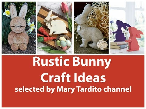 Bunny Crafts Ideas - Easter Decorations Ideas