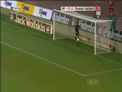 Werder 3 1 Aachen Diego! What a goal!!!