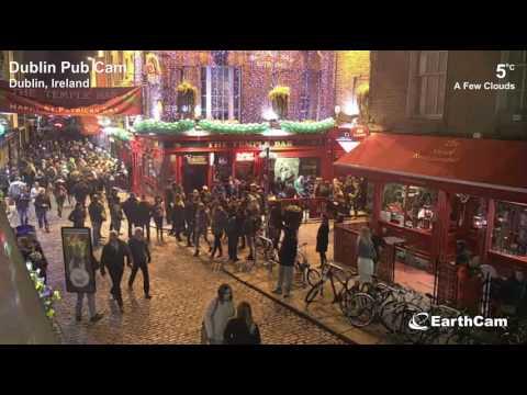 Dublin Pub Cam 17/03/2017