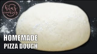 How to Make Pizza Dough at Home in Hindi / Urdu - Homemade Pizza Dough Recipe - Hinz Cooking