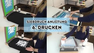 siebdruckland videoanleitungen auf youtube. Black Bedroom Furniture Sets. Home Design Ideas
