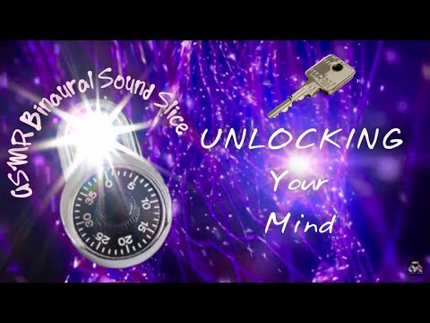 ASMR Binaural Sound Slice | Unlocking Your Mind For SLEEP | Heather Feather INSPIRATION