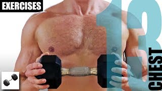 13 CHEST EXERCISES YOU CAN DO WITH JUST ONE DUMBBELL
