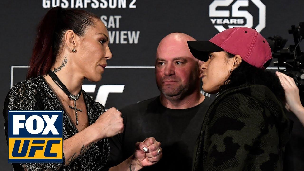 Cris Cyborg vs. Amanda Nunes   UFC 232 PRESS CONFERENCE