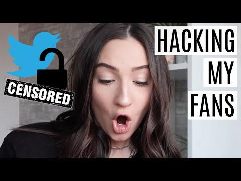 I HACKED MY FANS TWITTER ACCOUNTS!? || HACKING MY FANS || PART 3 || BeautyChickee