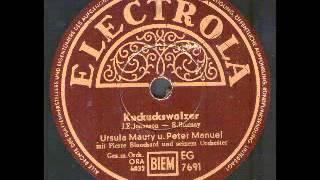 Ursula Maury Und Peter Manuel, Kuckuckswalzer