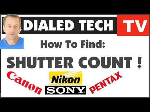 how-to-find-camera-shutter-count---canon,-nikon,-sony,-pentax!- -dialedtech