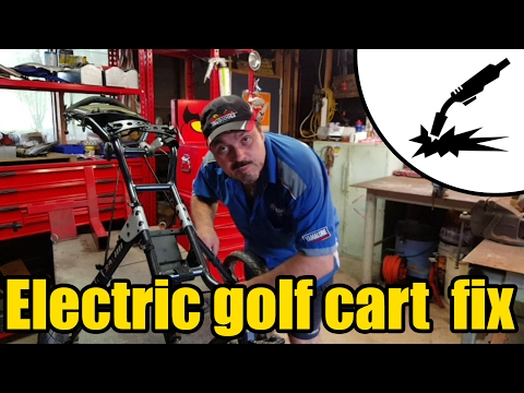 Electric golf cart repair #2012