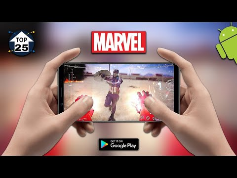 Top 25 Marvel & DC Games for Android 2019 | Ultra High Graphics Games on Mobile