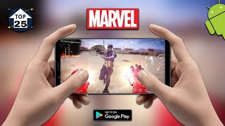 Top 25 Superhero Games for Android 2019 |High Graphics|