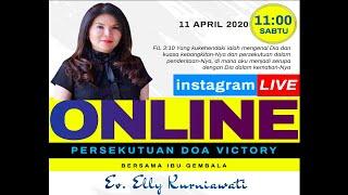 GAYA HIDUP ORANG BENAR - Ev. Elly Kurniawati - Live IG 11 April 2020