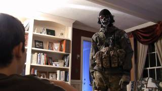 Ghost Saves Christmas (CoD: MW2 Holiday Video) He's STILL Alive!