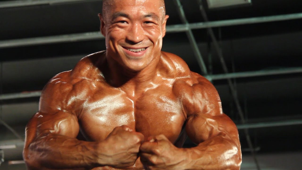 asian gallery man muscular