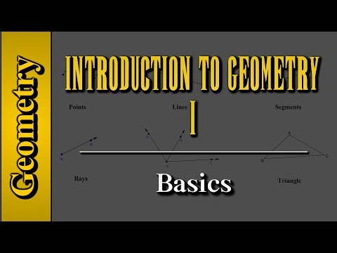 Geometry: Introduction to Geometry (Level 1 of 7) | Basics - YouTube