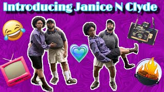 INTRODUCING JANICE N CLYDE!! ( HILARIOUS OLD PEOPLE SKIT!!) (FUNNY WALMART PRANKS)