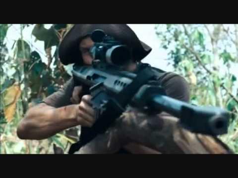 Warrior- Disturbed- Rambo Music Video thumbnail