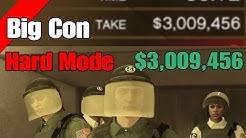 Gta Online Diamond Casino Heist $3,009,456 The Big Con (Gruppe Sechs) Hard Mode