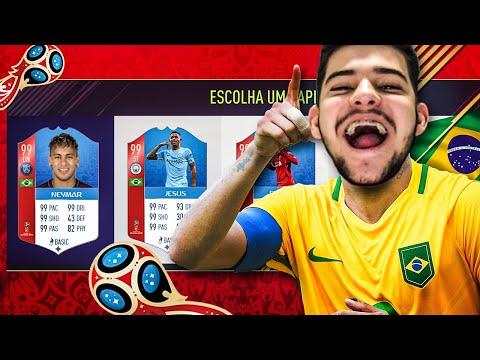 FUT DRAFT DA CONVOCAÇÃO DA SELEÇÃO PARA A COPA DO MUNDO!! FIFA 18