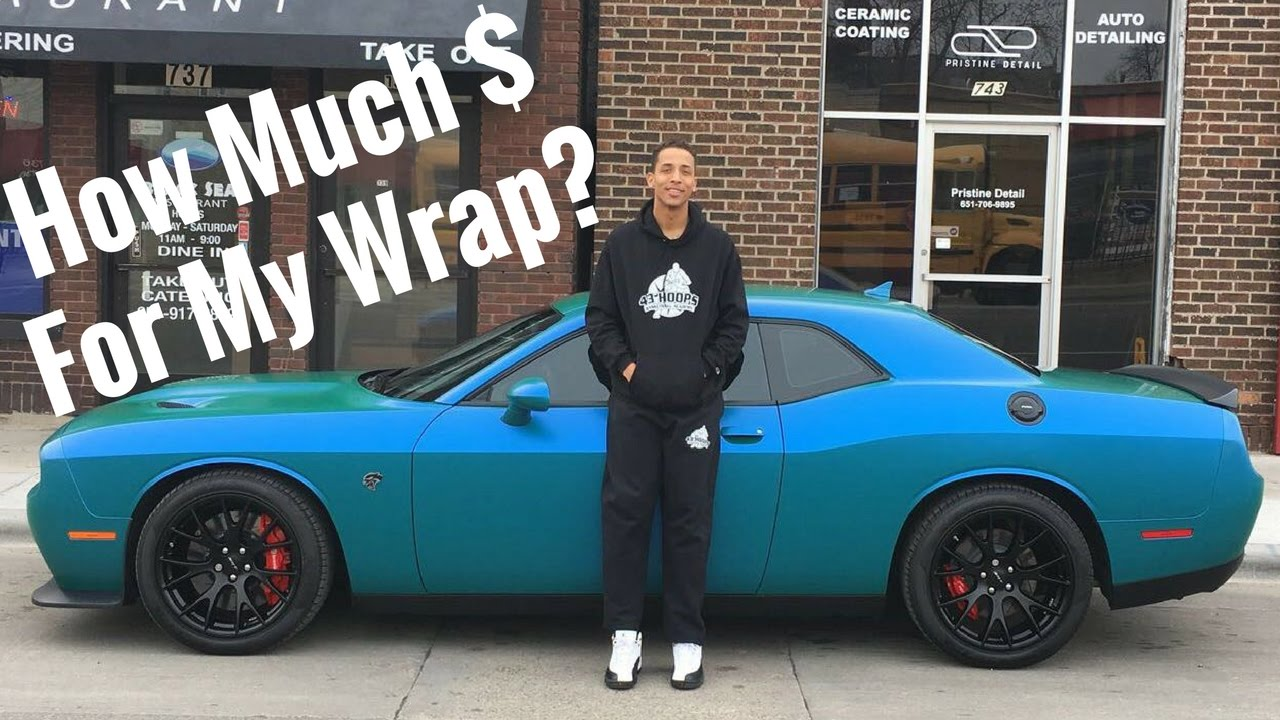 Vehicle Wrap Cost >> How Much Did It Cost To Wrap My Hellcat Youtube
