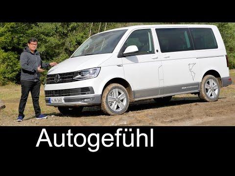 Volkswagen T6 Offroad Multivan PanAmericana & VW Transporter Kombi Rockton FULL REVIEW - Autogefühl