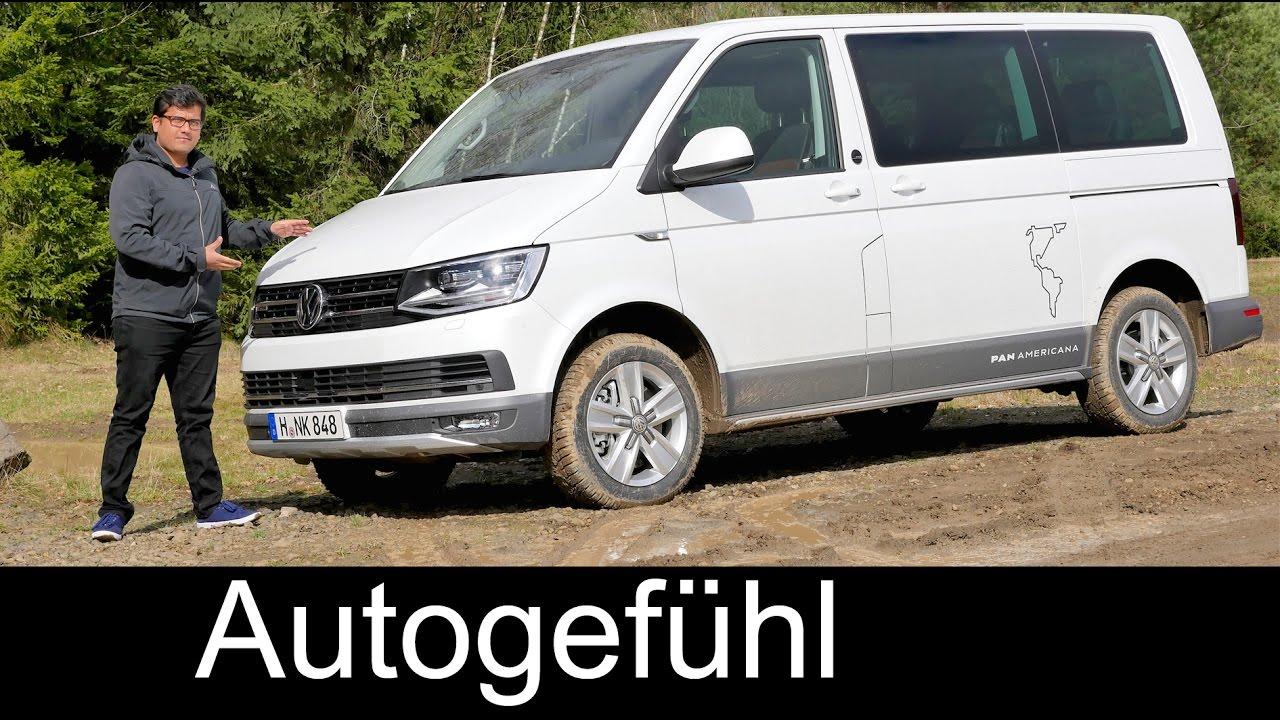 new video volkswagen t6 offroad multivan panamericana. Black Bedroom Furniture Sets. Home Design Ideas