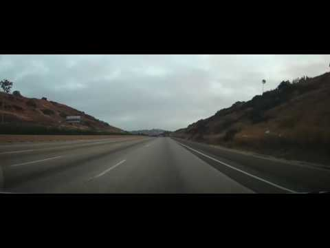 Driving from San Diego to Los Angeles - Interstate 5