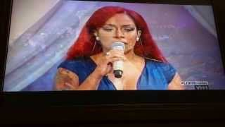 K.Michelle Singing Fall for you Love & HipHop Wedding