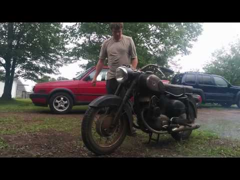 Puch Twingle walk-around and start-up
