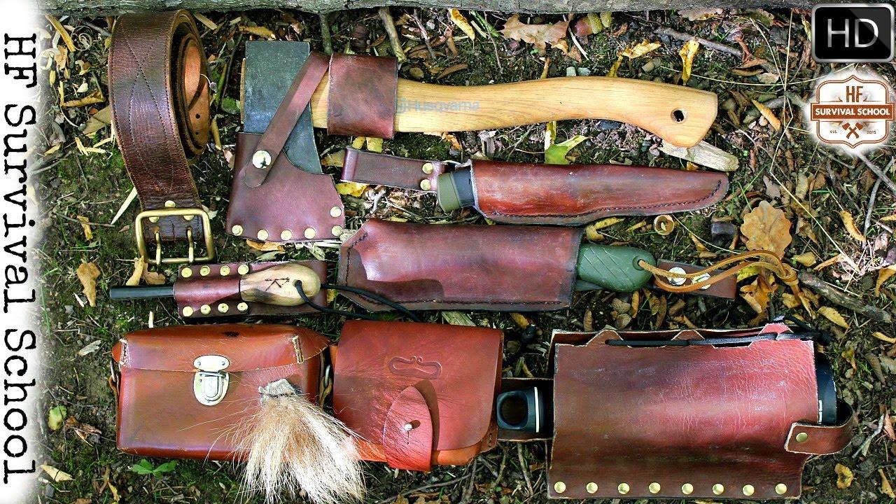 Bushcraft Survival Tool Belt One Stick Fire