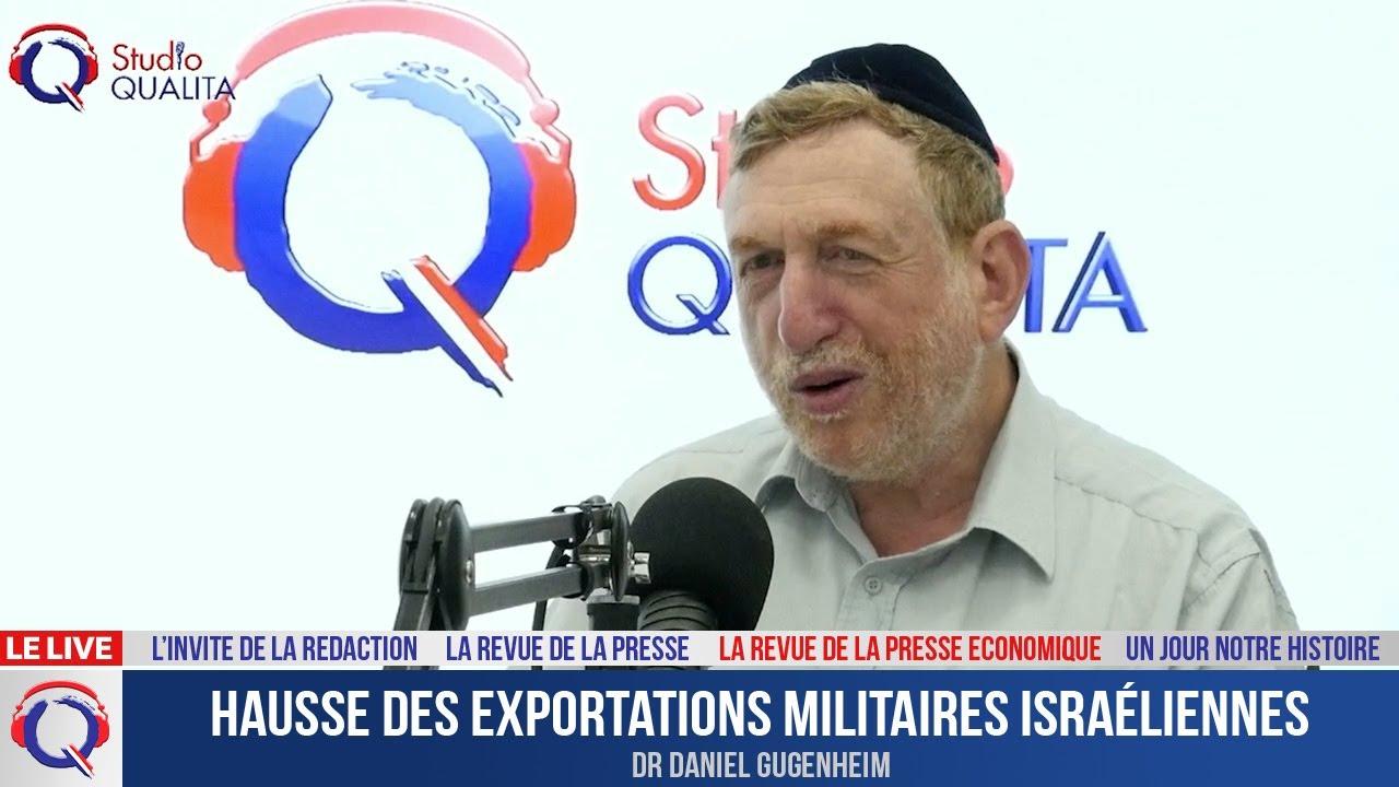 Hausse des exportations militaires israéliennes