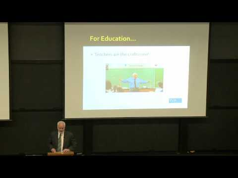 Provost Lecture - John Ewing: Valuing Education