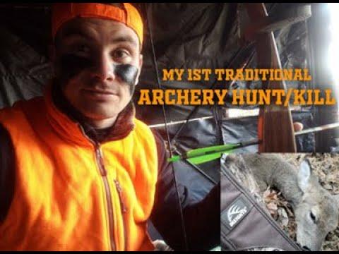 My 1st Traditional Archery Kill!