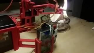 Робот, сжигающий твиты Трампа