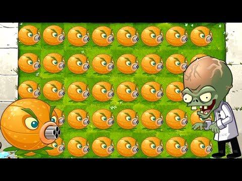 Plants vs Zombies 2 MEGA CITRON Challenge in All World - PVZ 2 Walkthrough Gameplay