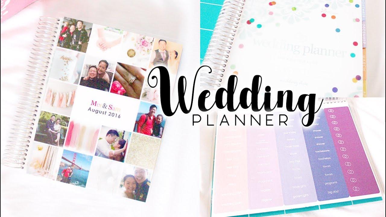 Erin Condren Wedding Planner Overview