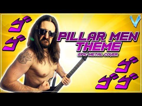 JOJO - Pillar Men Theme (Awaken) [EPIC METAL COVER] (Little V)