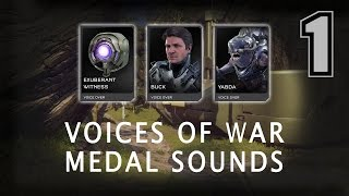 Halo 5 - Voices of War Project (162 Sounds)