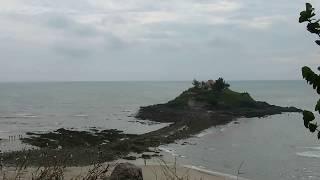 Hòn Bà, Vũng Tàu: thủy triều xuống để lộ ra lối đá bí ẩn (time lapse 10x)