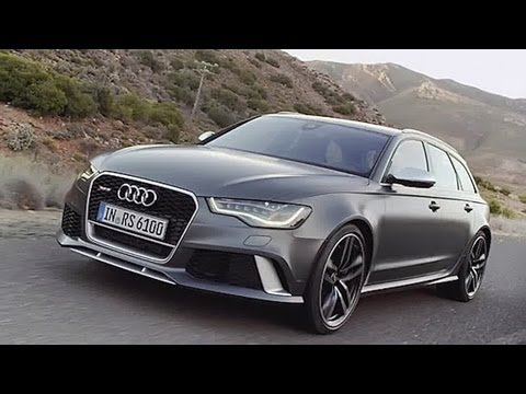 Audi Rs 6 Avant Mega Kombi Mit 560 Ps Youtube