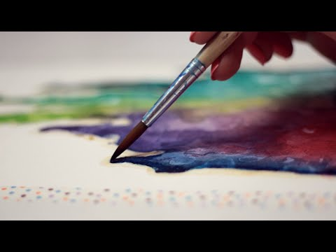 ✩ Dreams & Walt Disney Inspirational Quote ✩ Painting with mako