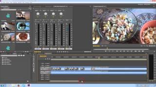 Изменить громкость в Adobe Premiere Pro