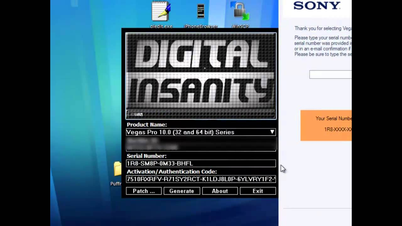 digital insanity keygen sony vegas pro 10 free download