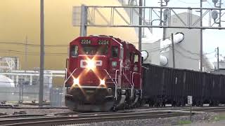 CP Fifth St  474, B60, B67 and 677 long hood forward Clinton, IA May 19, 2019