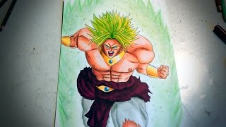 Speed drawing - Dragon Ball Z - Broly