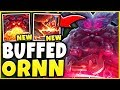 THESE NEW ORNN CHANGES ARE RIDICULOUS HUGE DAMAGE SEASON 9 ORNN GAMEPLAY League Of Legends mp3