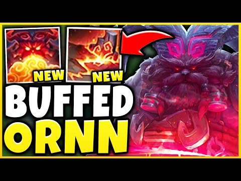THESE *NEW* ORNN CHANGES ARE RIDICULOUS! (HUGE DAMAGE) SEASON 9 ORNN GAMEPLAY! - League of Legends thumbnail