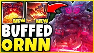 THESE *NEW* ORNN CHANGES ARE RIDICULOUS! (HUGE DAMAGE) SEASON 9 ORNN GAMEPLAY! - League of Legends
